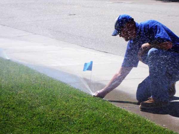 Holmes Sprinkler maintenance
